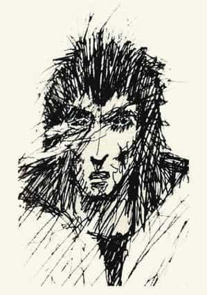 Croquis Gaiman 1
