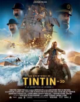 Affiche du film Tintin - Le Secret de la Licorne