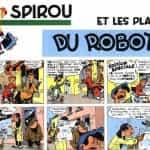 Spirou et les plan du robot
