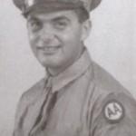 Portrait de Jack en militaire à son incorporation en 1943