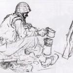 Un dessin datant de septembre 1944.
