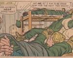 Dans Sgt. Fury 2, le repos du guerrier du Howling Commando