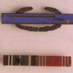 Les décorations du Private Jack Kirby...