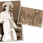 Marlène Dietrich et Martha Ray, remontant le moral des troupes...
