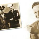 Joe Simon en Coast Guard (au milieu), avec Jack (à gauche) et l'éditeur Al Harvey (au centre).