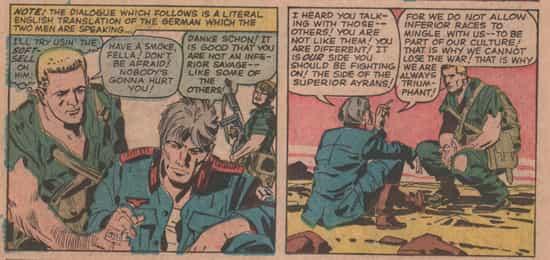 Un prisonnier allemand autain interviendra dans Sgt. Fury n°6 (mars 1964).