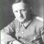 Le Général Knobeldorff, commandant la première armée allemande...