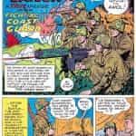 L'histoire « Foxhole Sailor » de World's Finest 20, parue chez DC...