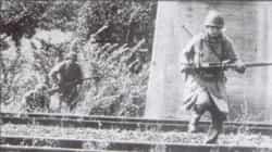 Une photo de la traversée de la voie ferrée de Dornot.
