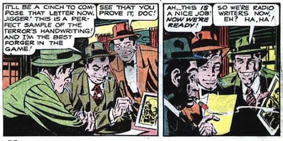 Black Terror Exciting Comics 66 cases Ditko2