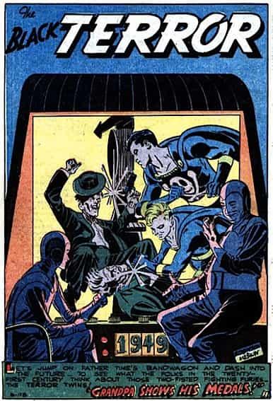 Black Terror-Exciting Comics 66