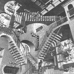 Une figure folle d'Escher