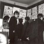 Exposition Druillet au Kiosque (1965).