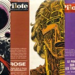 Couvertures de Pilote 562, 569 et 578, avec  « Les 6 voyages de Lone Sloane ».