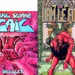 couvertures de « Gail »et d'« Urm le fou».