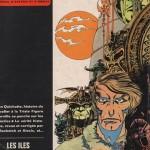 Couverture de Pilote n°553 (1971), où paraît le premier voyage de Lone Sloane...