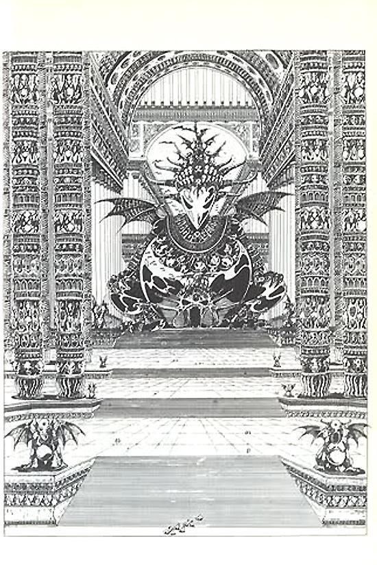 Planches d'« Elric le Nécromancien ».