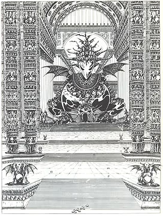 Deux autres planches d'« Elric le Nécromancien ».