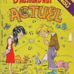 Couverture d'Actuel n°53 (sorti en 1975, au moment du lancement de Métal hurlant).