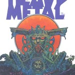 Couverture de Heavy Metal par Druillet.