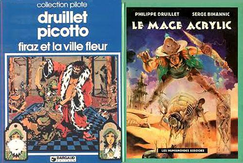 « Firaz et la Ville-Fleur » + « Le Mage Acrylic ».