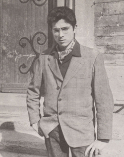 Philippe Druillet à 15 ans.