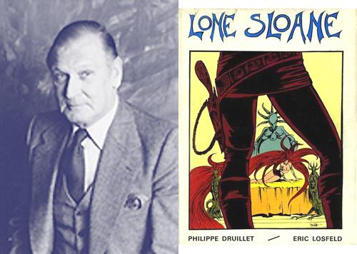 Éric Losfeld édite Le mystère des abîmes en 1966.