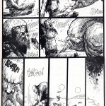 3 pages de Druillet dans le n°15 de L'Echo des Savanes (4ème trimestre 1975).