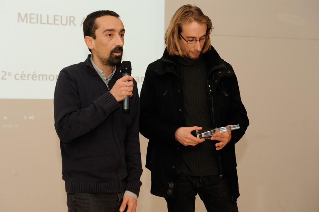 """Fabien Nury et Brüno, DBD Award du meilleur album pour """"Atar Gull"""""""