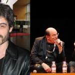 Serge Lehman / Druillet et Lehman aux Utopiales de Nantes en 2010.