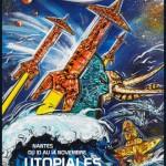 Affiche des Utopiales de Nantes.
