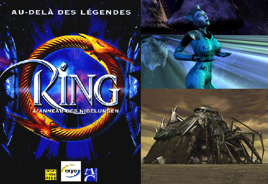 Illustrations 3D pour « Ring».