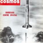 Couverture du n°61 (13 juin 1964) d'Air et Cosmos, dessinée par Calude Pascal.
