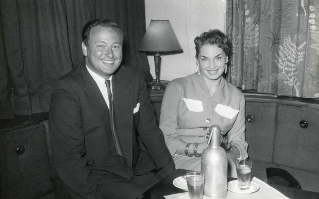 Christine et Jean-Michel Charlier en voyage de noces, en 1953.