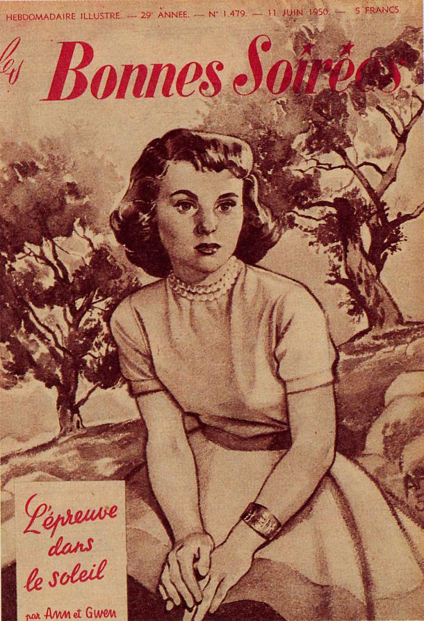 Une couverture de Bonnes Soirées par André Franquin.