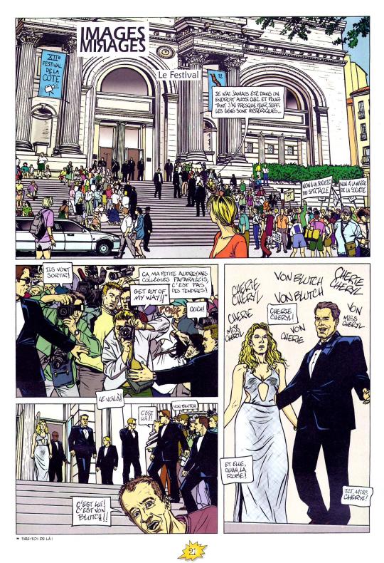 « Images mirages » par Sébastien Verdier et Pierre Christin, dans la nouvelle version de Pif Gadget),  en 2004, dans la nouvelle version de Pif Gadget.