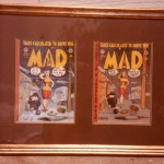 MAD #4 - rough & comic book