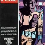 Couverture du n°522 de Pilote, du 6 novembre 1969.