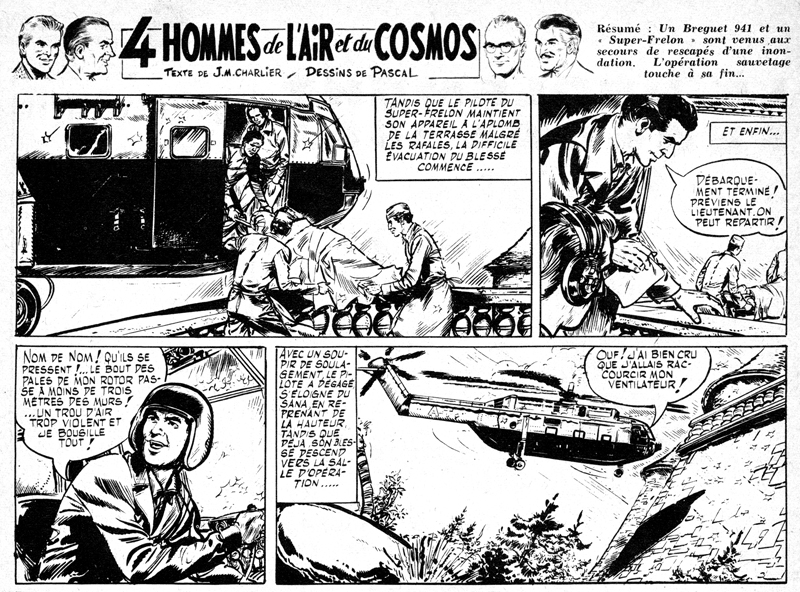 « 4 hommes de l'air et du cosmos » Planche 11 A