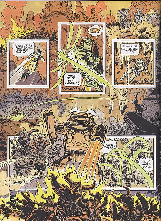 Des guerriers extra-terrestres dans « Valérian ».