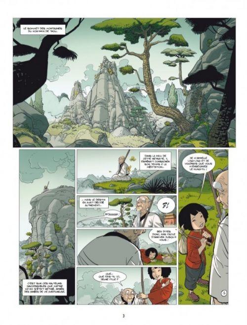 album-page-large-15526« Ling – Ling » T1 (« Le Bureau des rumeurs ») par Marc N'Guessan et Bertrand Escaich p.3