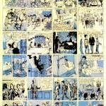 « Les 13 marches » : première bande dessinée de Jean-Claude Mézières publiée dans Fripounet et Marisette (du n°31 au n°42 de 1955).