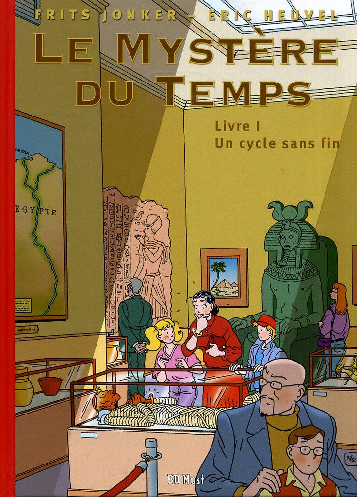 heuvel-1« Le Mystère du temps » T1 par Eric Heuvel et Frits Jonker