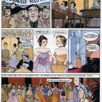 Une planche de « La Demoiselle de la légion d'honneur » par Annie Goetzinger et Pierre Christin.