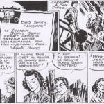 Bandes des 27 et 28/5/39. La deuxième semble avoir été dessinée par Robbins. Donc, Jack ghoste la première semaine complète de Robbins sur « Scorchy Smith ».