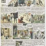 « Le train fou », un récit complet paru dans Cœurs Vaillants n°38