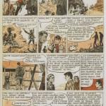 « Le Train fou », un récit complet paru dans Cœurs Vaillants n°38.