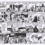Kirby semble avoir dessiné ces cinq autres daily strips, publiés dans le récit complet collection Les Belles Aventures n°150 (éditions Mondiales, 3e trimestre 1946).