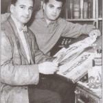 Photographie de Simon & Kirby du début des années 40...