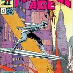 Le Surfer d'argent de Moebius, annoncé dans la revue Marvel Age n°71